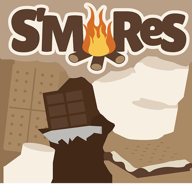 Campfire Smores PNG - 86880