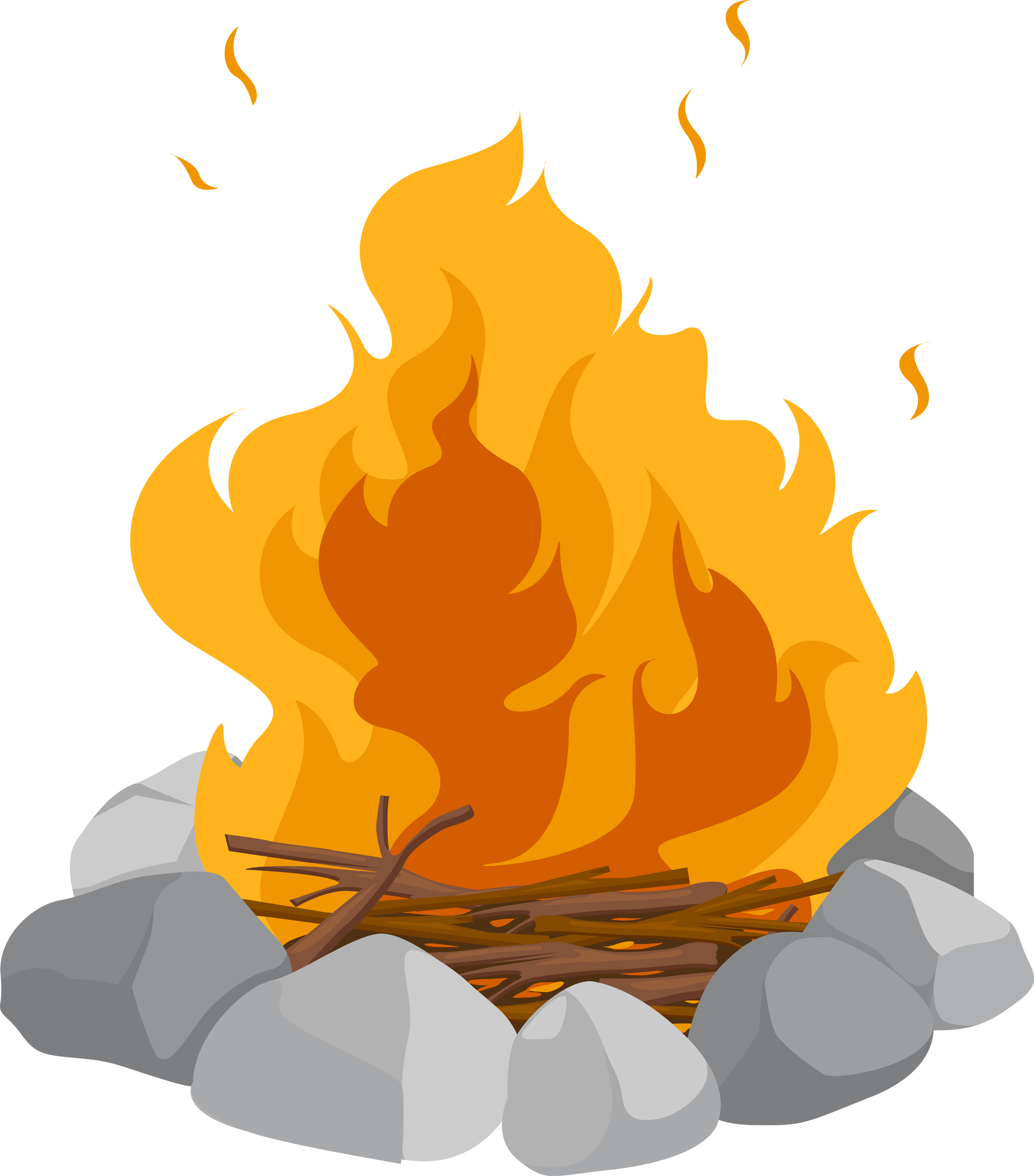 Time for some family fun, singing and su0027mores around the campfire while we  learn the story of Moses and the burning bush. - Campfire Smores PNG