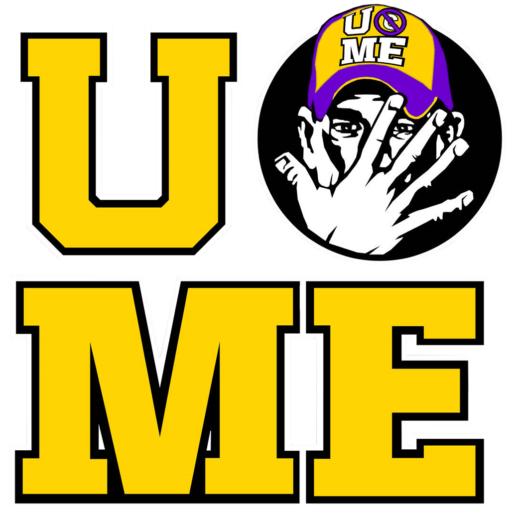 U cant see me logo.png - Can Cant PNG