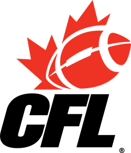 CFL Canadian Football League Logo. Format: EPS