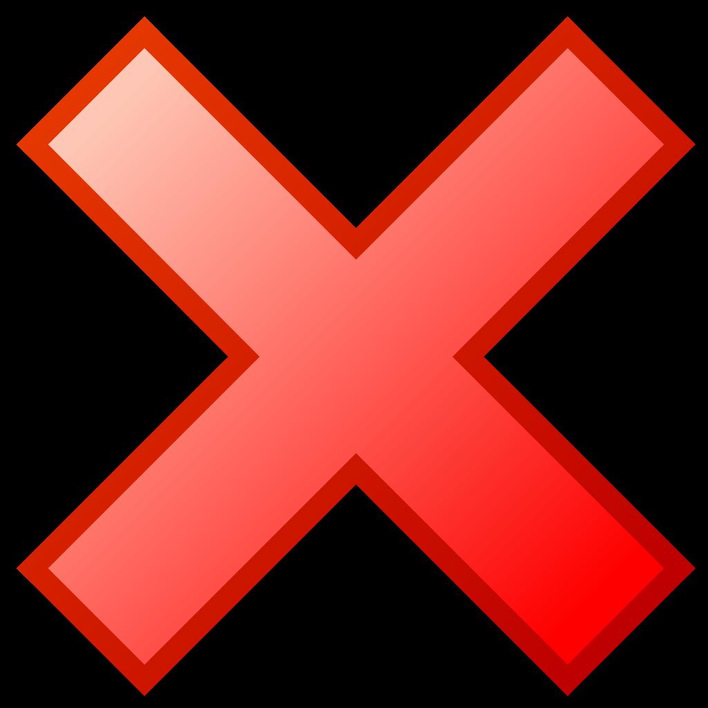 Cancel Button PNG - 22169