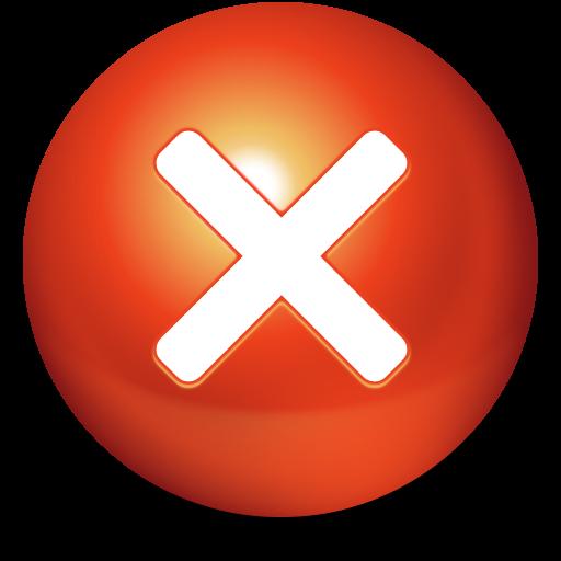 Cancel Button PNG - 22167