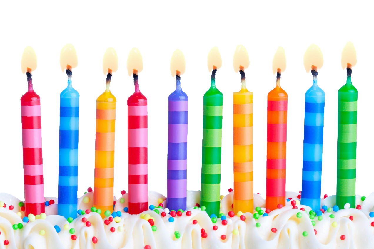 Birthday Candles Free Download Png PNG Image - Candle  PNG HD