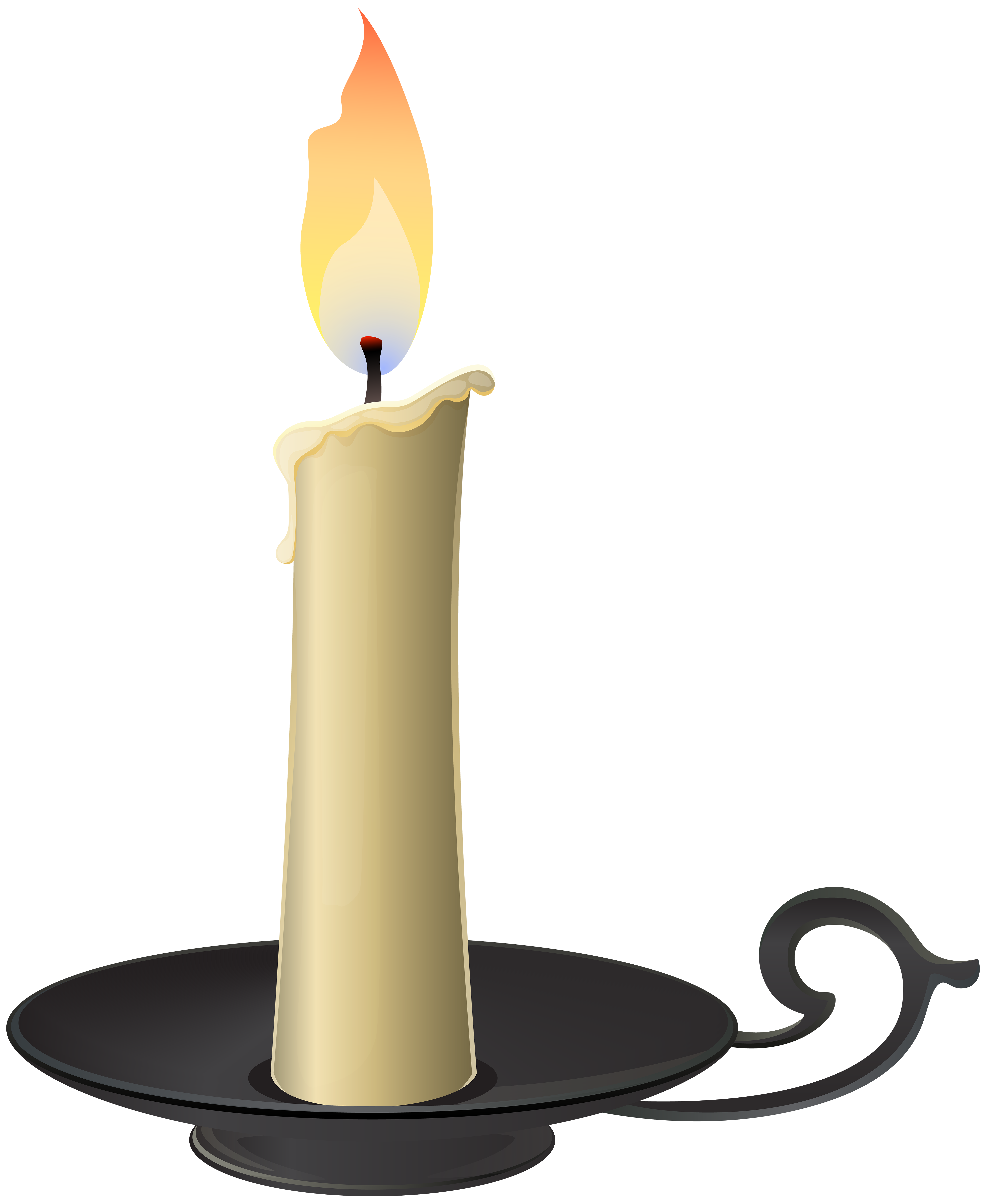 Candlestick PNG Clip Art - Best WEB Clipart - Candle  PNG HD