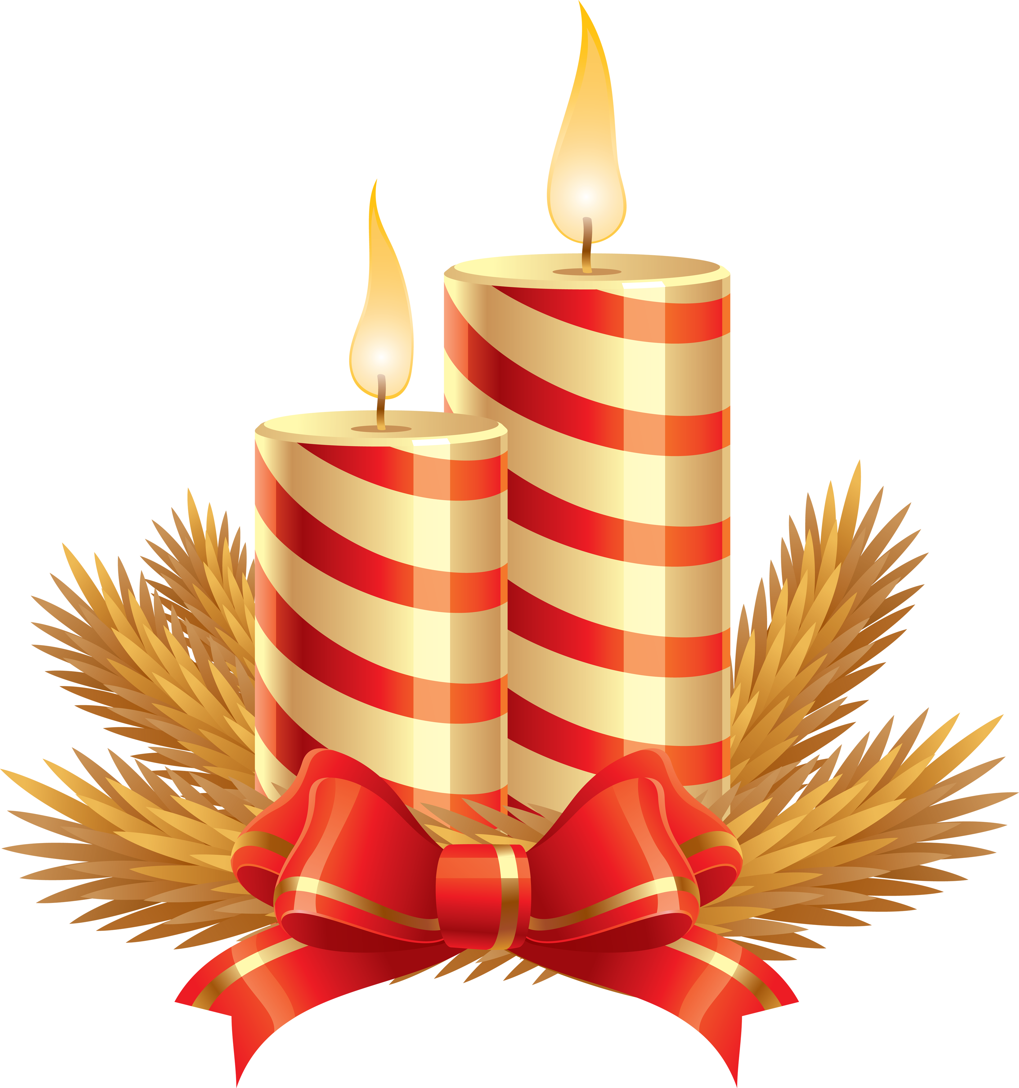 Christmas candle PNG image - Candle PNG - Candle  PNG HD