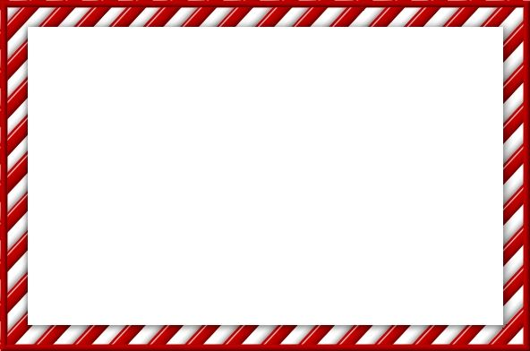 christmas candy cane border clipart - Candy PNG HD Border
