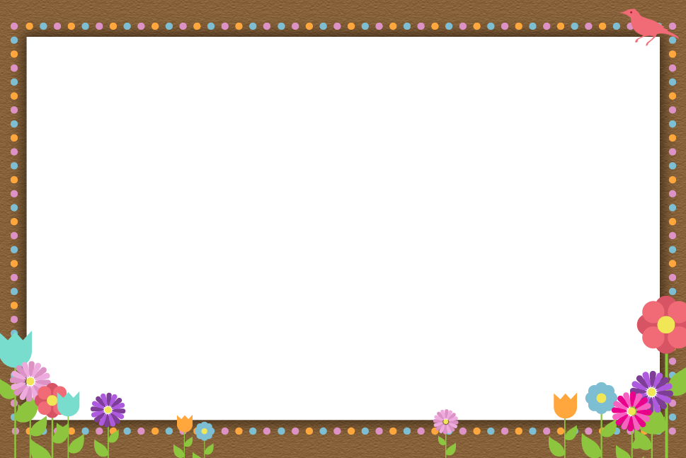 Download PNG image - Flowers Borders Png Hd - Candy PNG HD Border