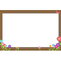 Flowers Borders Png Hd PNG Image - Candy PNG HD Border