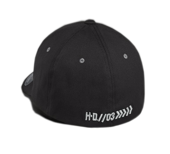 H-D Menu0027s Embroidered Eagle Stretch Cap - Cap HD PNG