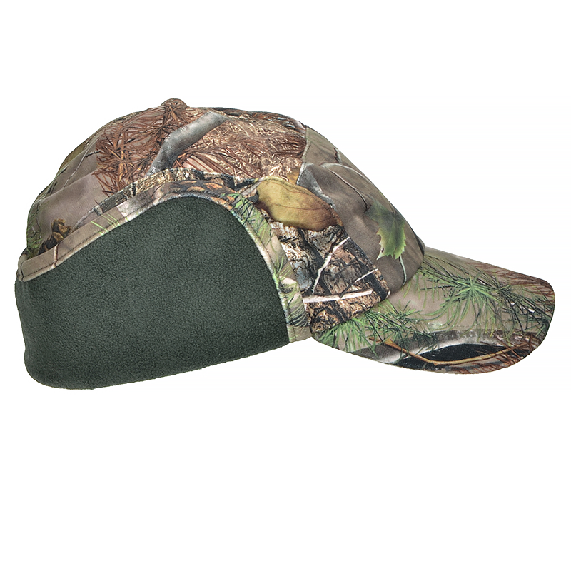 . PlusPng.com Mil-Tec Winter Cap Wild Tree HD Brown PlusPng.com  - Cap HD PNG