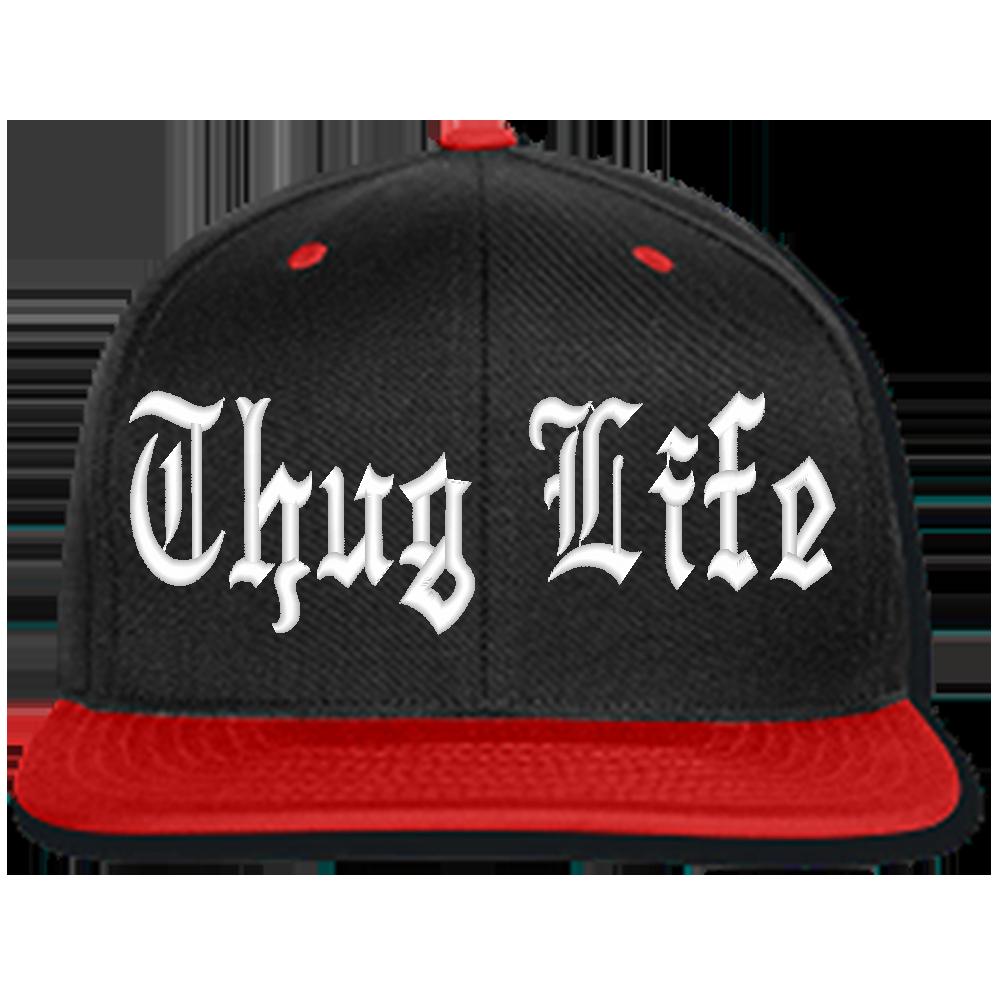 Thug Life Black Hat - Cap PNG