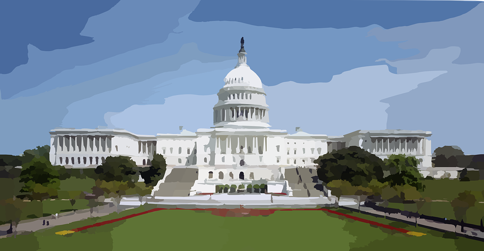 Capitol United States Washington Dc Govern - Capitol Building PNG HD