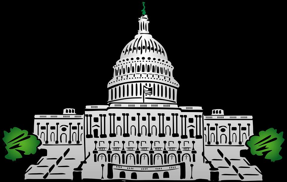 Capitol Washington Political Capital Unite - Capitol Building PNG HD