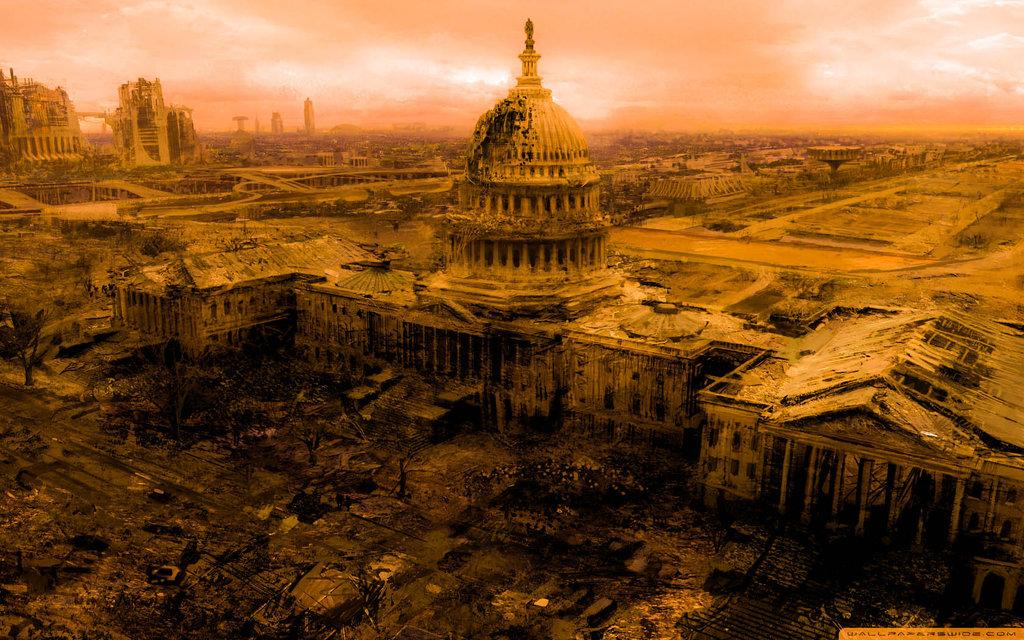 Fallout 3 Capitol Building HD By DJ0024 PlusPng.com  - Capitol Building PNG HD