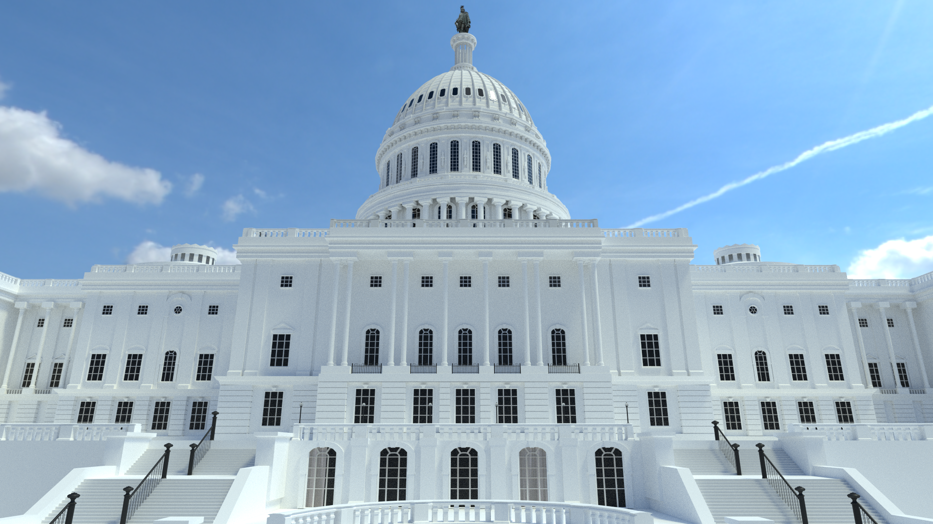I Tried To Make The U.S. Capitol Building. - Capitol Building PNG HD