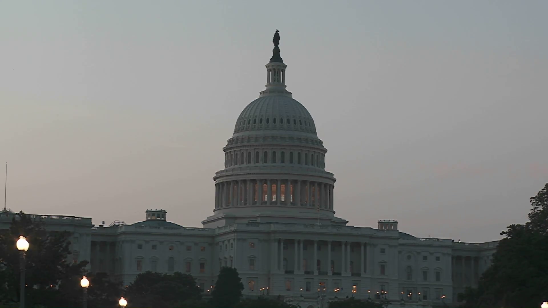 The Capitol Building In Washington DC At Dusk. Stock Video Footage -  VideoBlocks - Capitol Building PNG HD