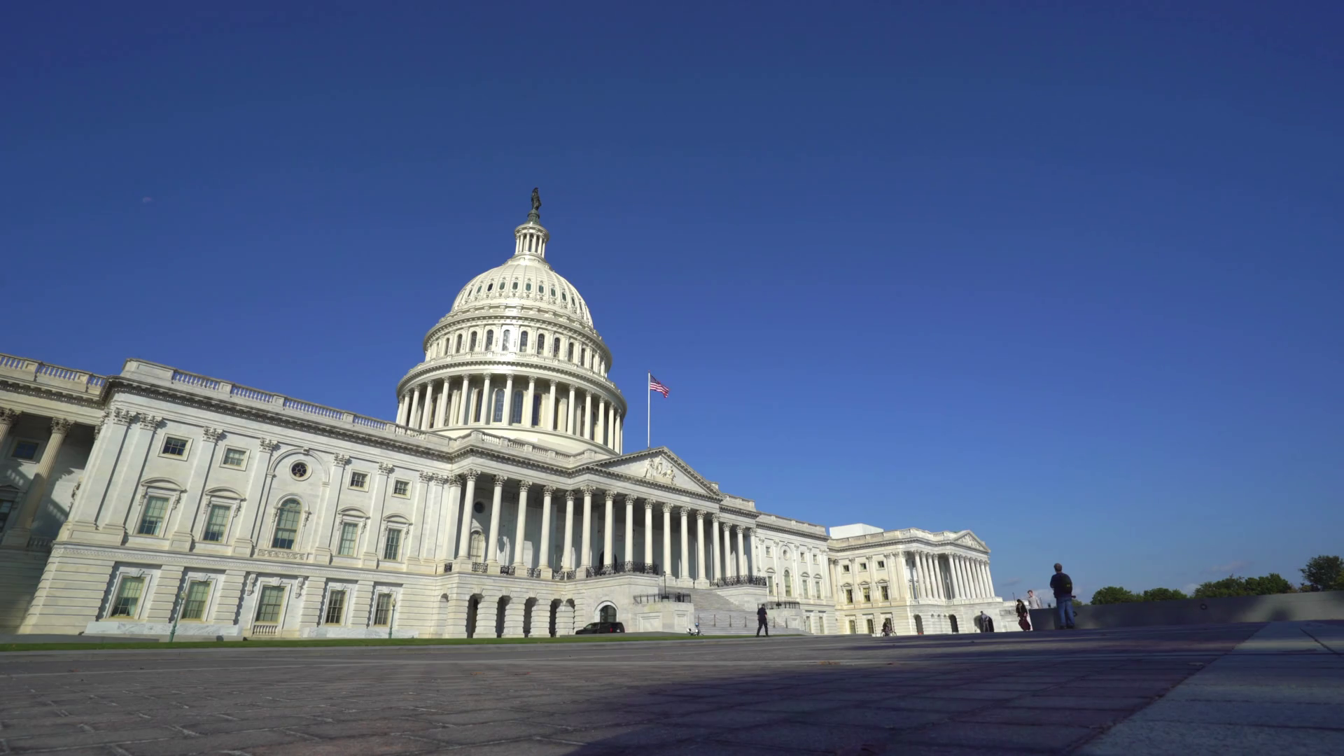 Us Capitol Building Low Angle View - Washington DC Stock Video Footage -  VideoBlocks - Capitol Building PNG HD