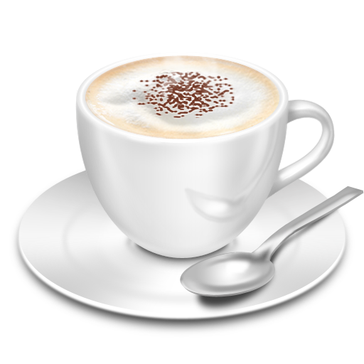 Cappuccino Icon 512x512 png - Cappuccino Cup PNG