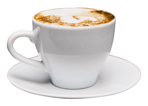 Coffee Cup PNG Transparent Image - Cappuccino Cup PNG