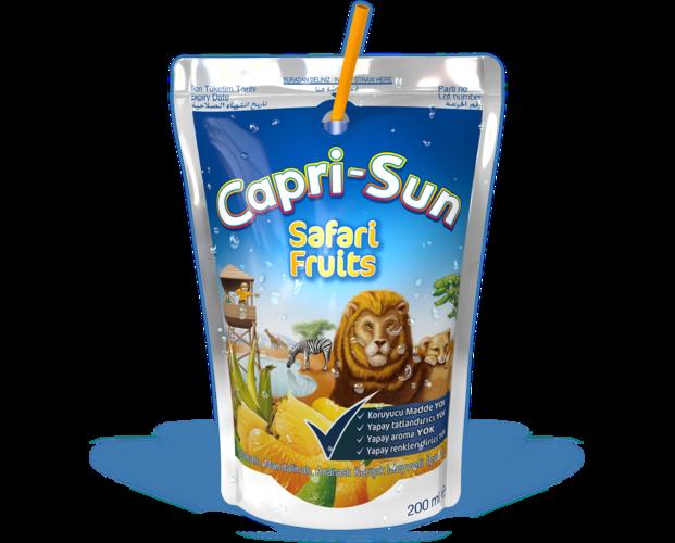 Bu lezzetli poşetler gittiğin her yerde sana arkadaşlık edecek: - Capri Sun PNG