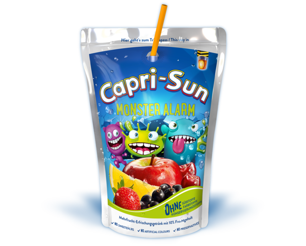 Monster Alarm - Capri Sun PNG