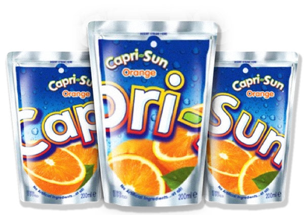 The Solutions - Capri Sun PNG