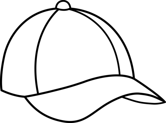 Caps PNG Black And White - 136437