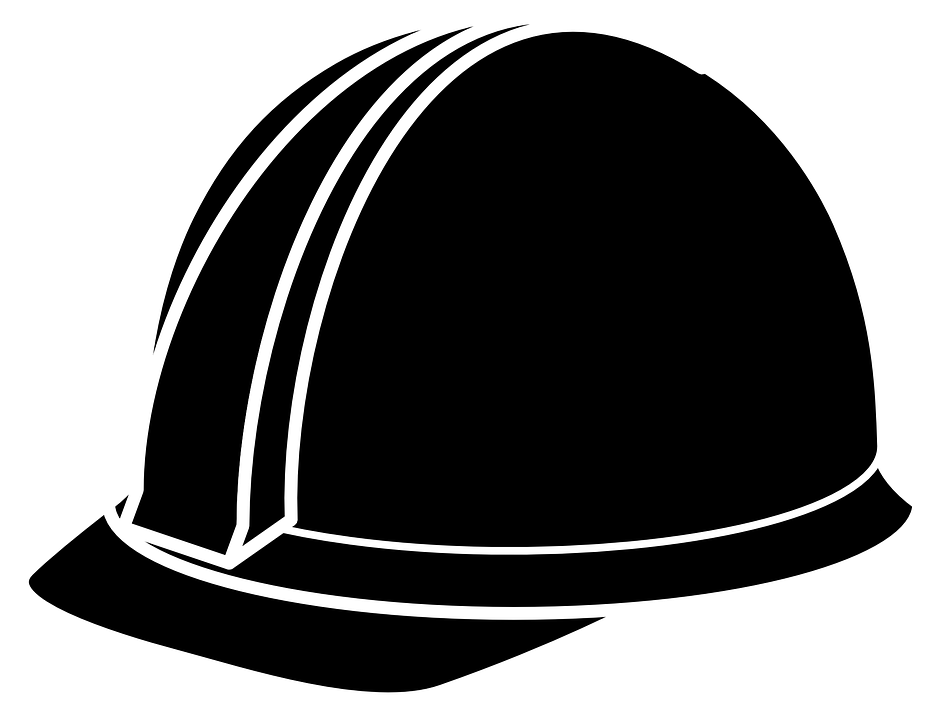 Caps PNG Black And White - 136443