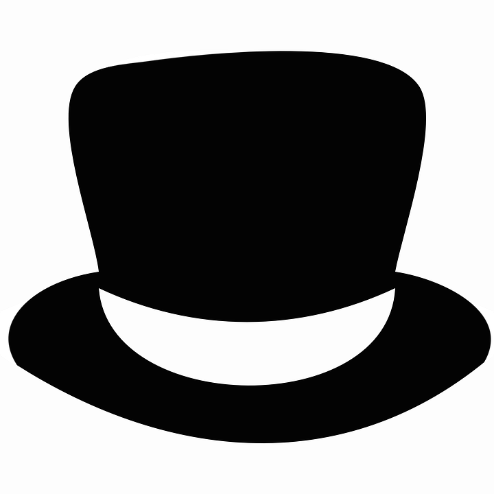 Caps PNG Black And White - 136450