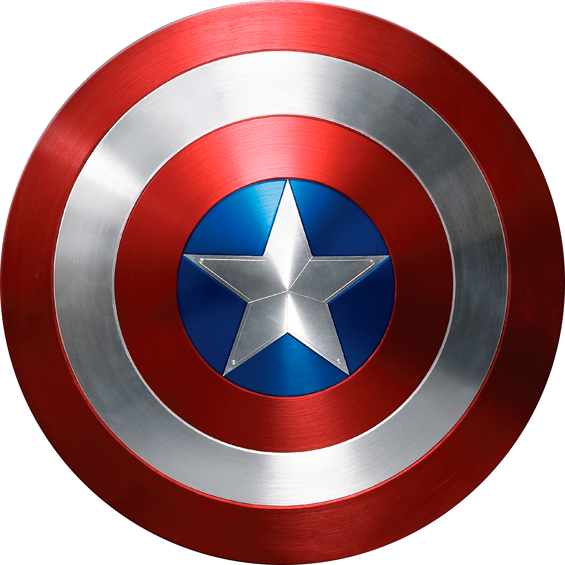 Captain America Photorealistic Shield