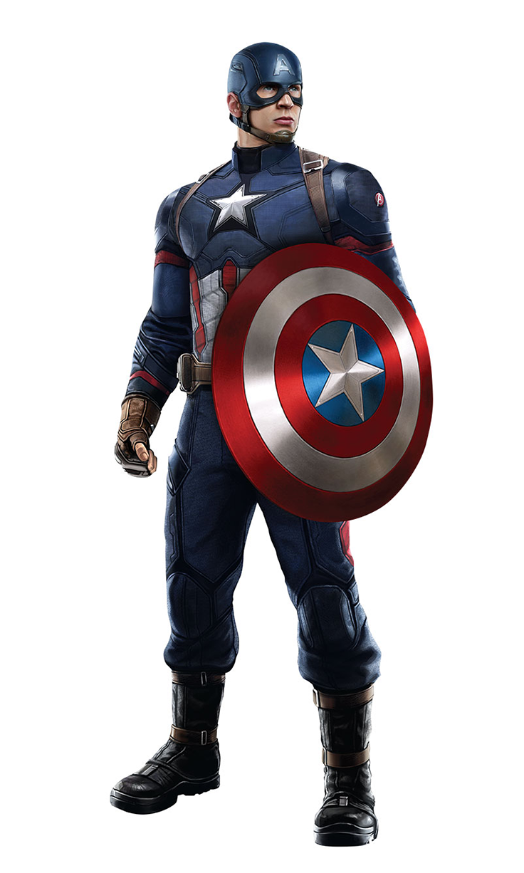 CaptainAmerica CACW.png - Captain America PNG