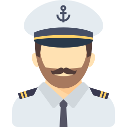 Captain Of A Ship PNG