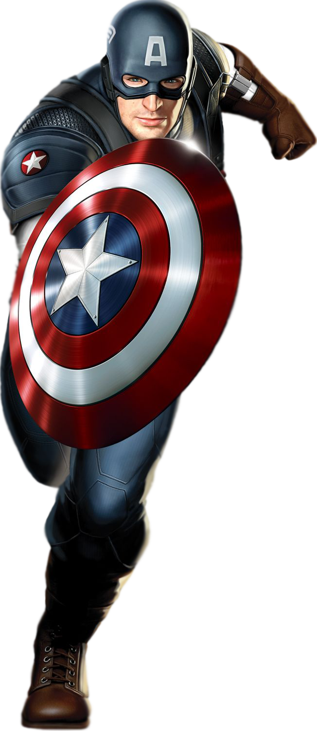 Captain America Transparent PNG - Captian America HD PNG