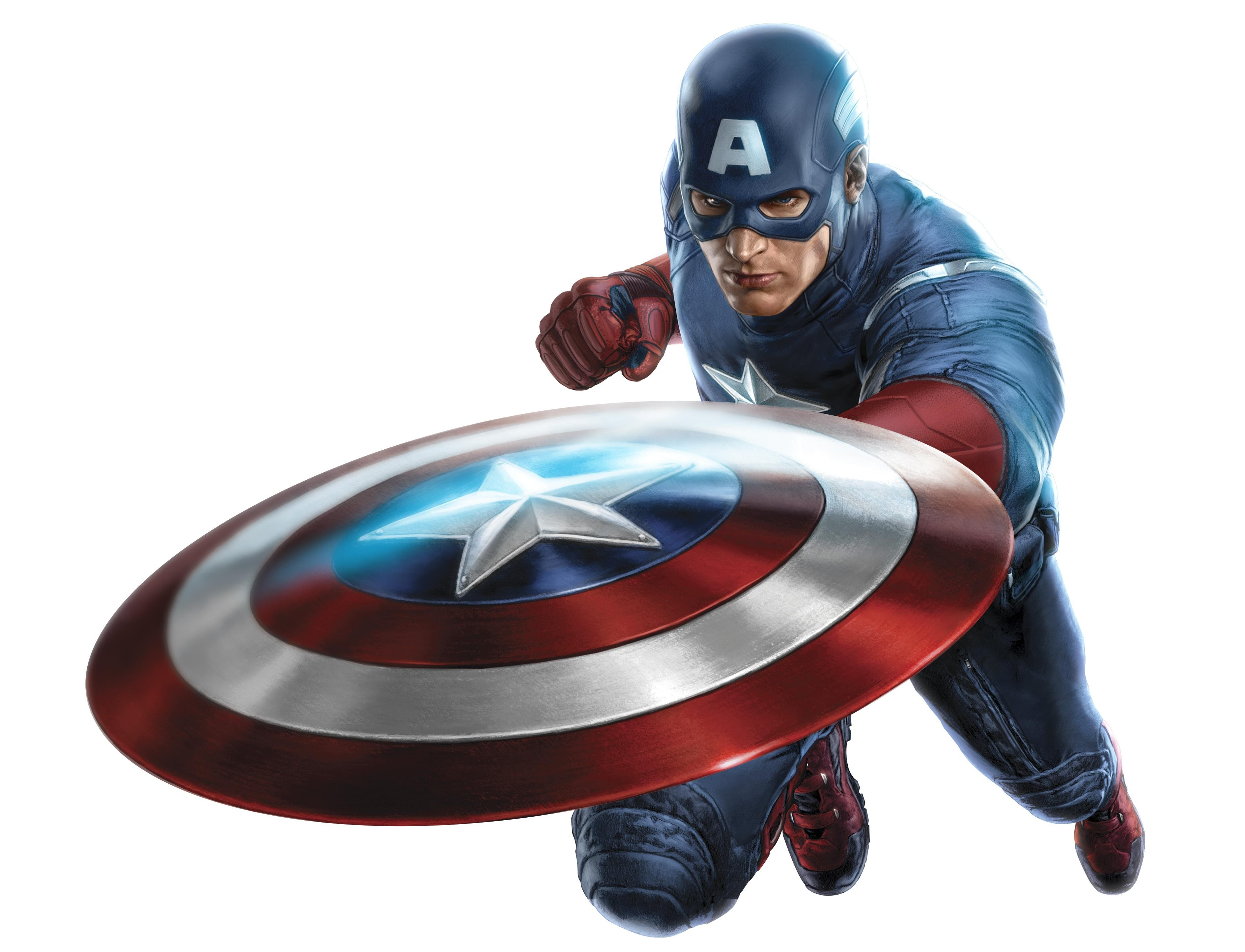 CaptainAmerica4-Avengers.png - Captian America HD PNG
