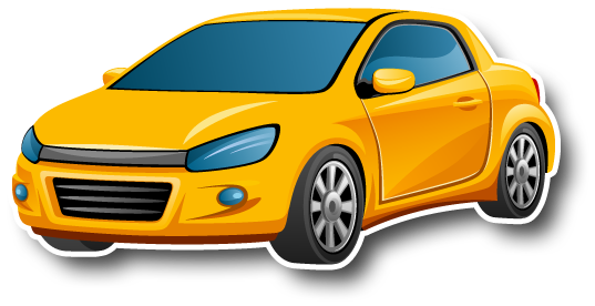 Yellow car - Car Auction PNG