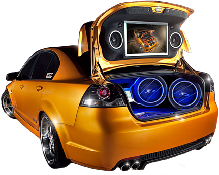 Car Audio Video - Car Audio PNG