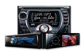 Car stero decks, png - Car Audio PNG