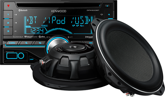 Kenwood Car Audio - Car Audio PNG
