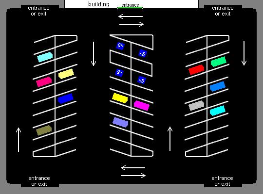 File:Angle Parking Lot Diagram.PNG - Car Parking Lot PNG