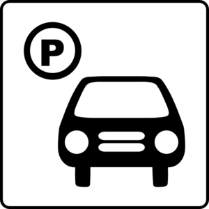 Hotel Icon Has Parking Clip Art - Car Parking Lot PNG
