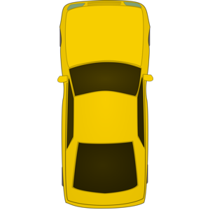 Hatchback Car Top View - Car PNG Top