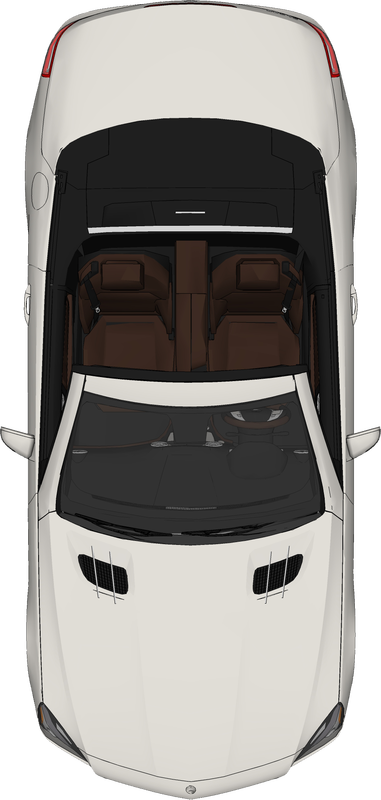 Free Top View PNG Car Mercedez - Car PNG Top View Png