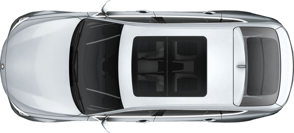 White Top Car Png image #34867 - Car PNG Top View Png