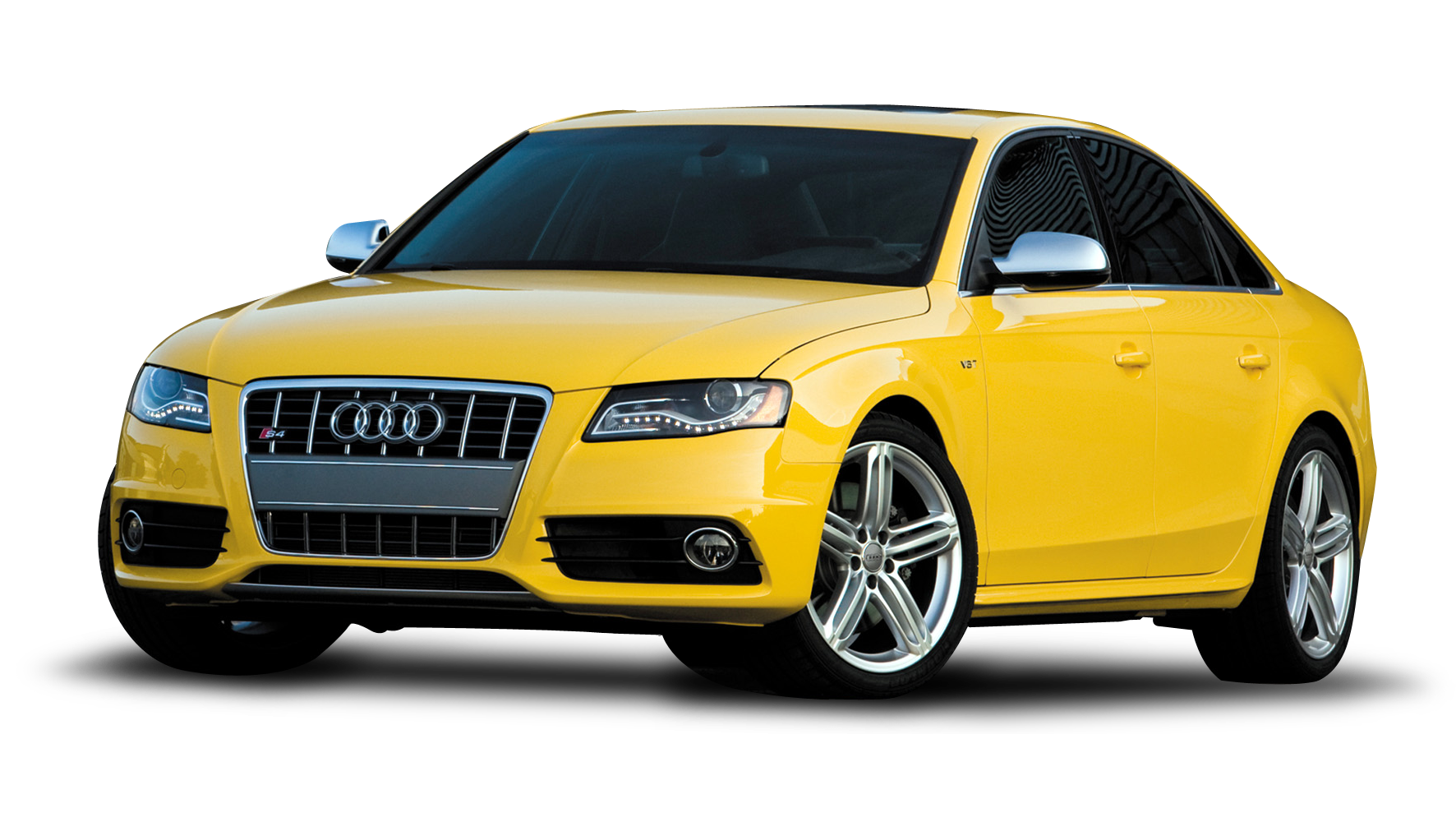 Yellow Audi Car PNG image - Car PNG