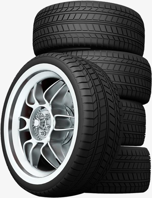 Car Tyre HD PNG - 89610