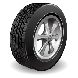 Car Wheel PNG-PlusPNG.com-256 - Car Wheel PNG