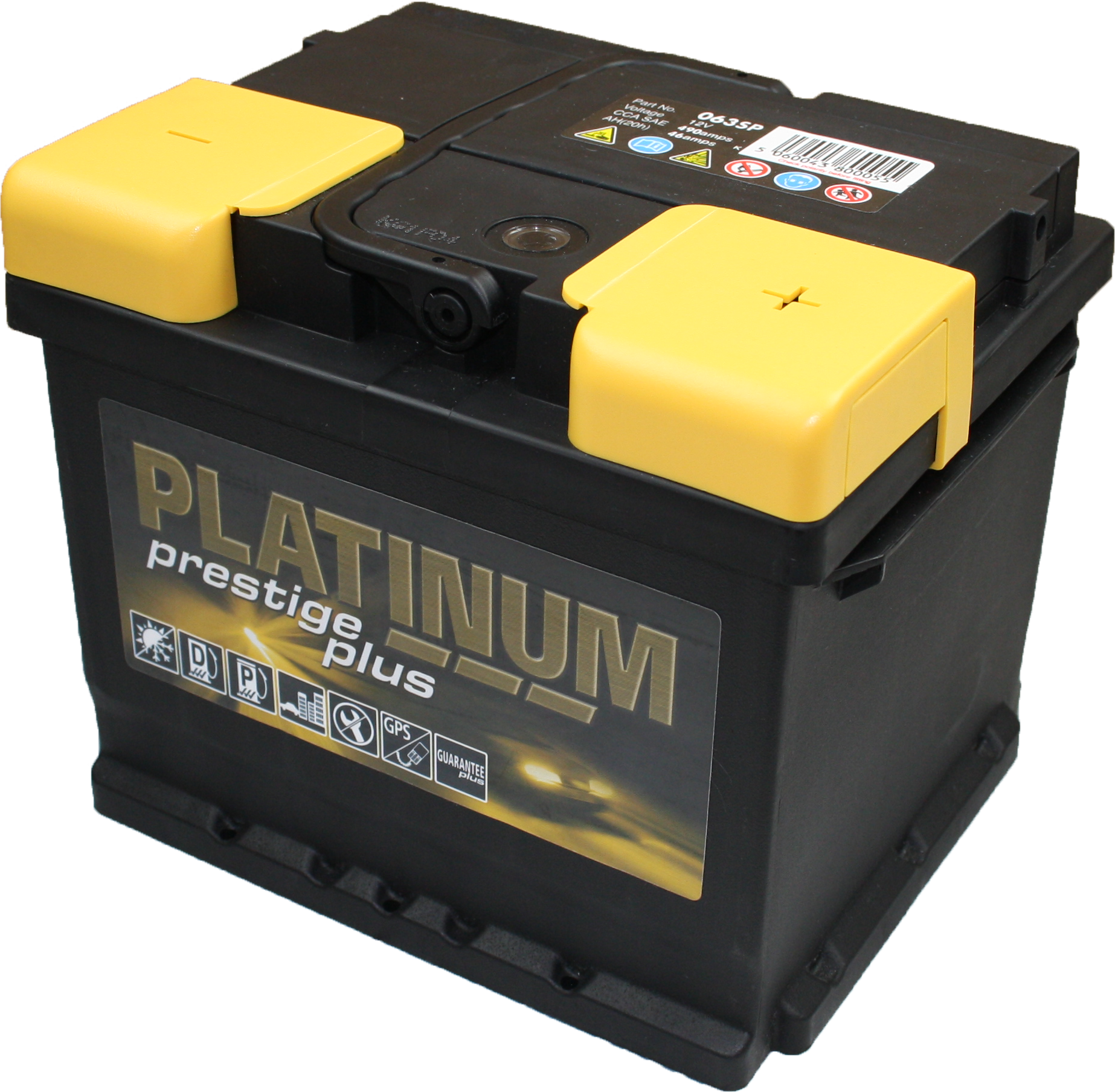 Automotive Battery PNG HD