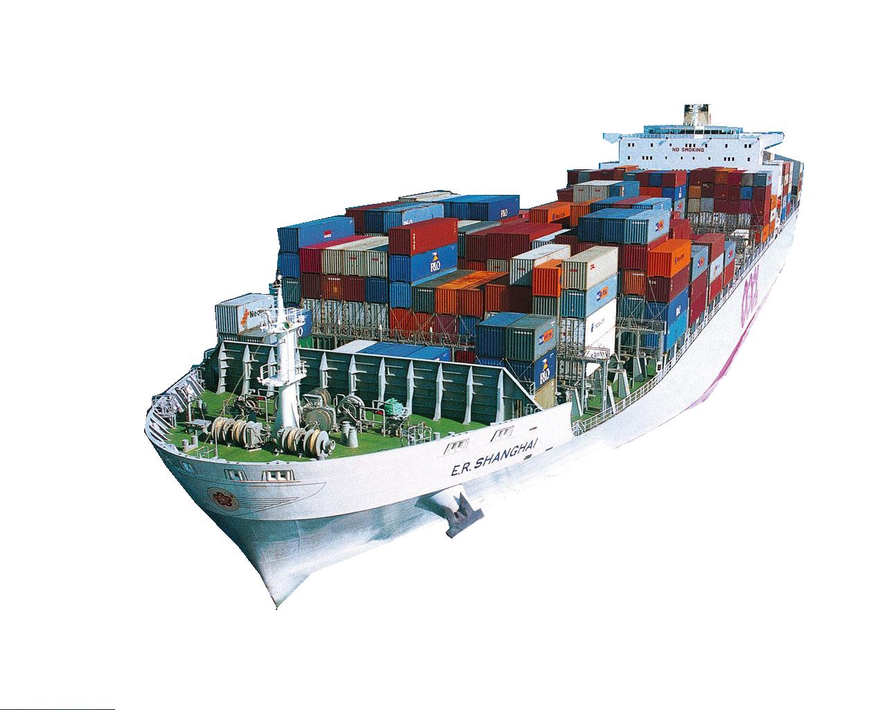 Cargo Ship PNG HD - 121641