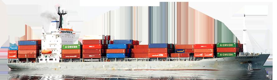 Cargo Ship PNG HD - 121644