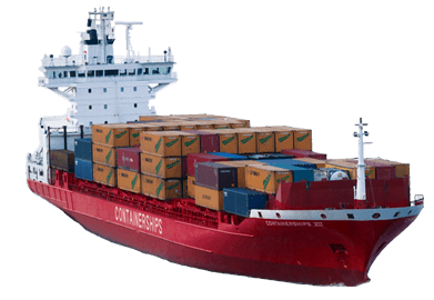 Container Ship - Cargo Ship PNG HD